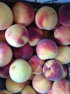We turned these delicious peaches into 15 pints of jam!